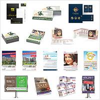 דוגמאות מוצרי דפוס